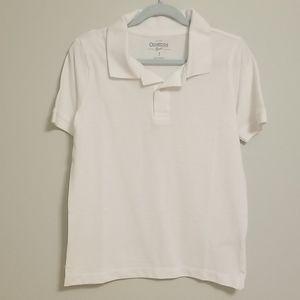 White Size 7 Polo Boys-New